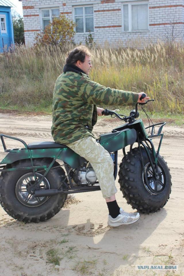 Мотоцикл-мегапроходимец. Продам