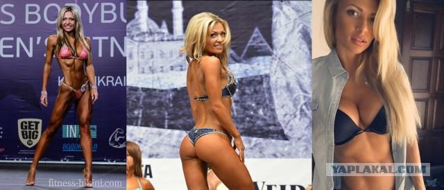 Русские красавицы фитнес-бикини на ЯП