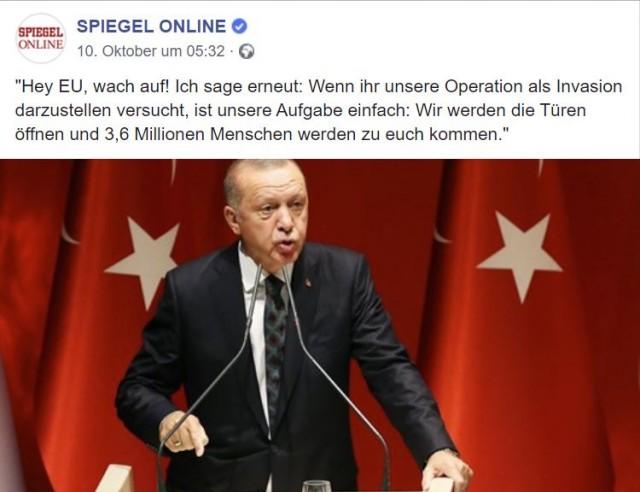 А Эрдоган то похоже человек слова