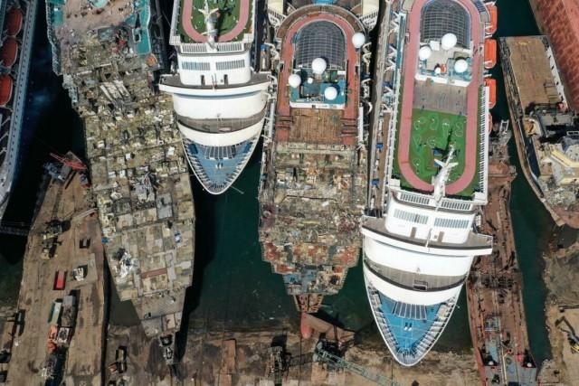 Кладбище круизных лайнеров