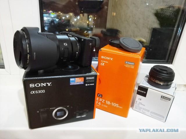 Фотоаппарат Sony a6300 + объективы