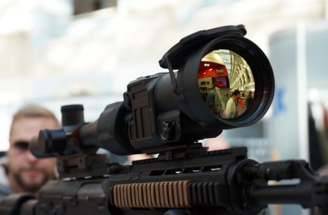 В Москве показали оружие, вызывающее восхищение