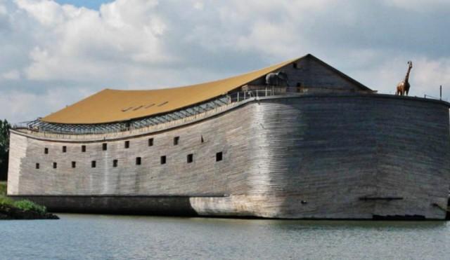 Точная копия ковчега Ноя отправится в свое первое путешествие по волнам Атлантического океана
