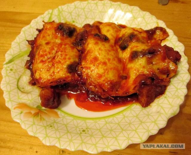 Фото рецепт подлива из свинины