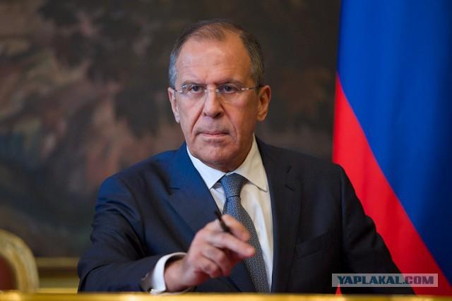 Лавров предложил перекрыть границу Сирии и Турции