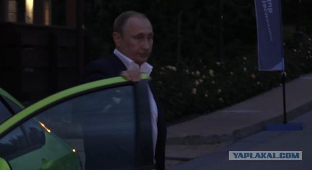 Путин рассказал о своей поездке на Lada Vesta