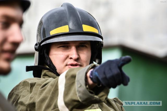 В Москве двое чеченцев бросились в огонь ради спасения пенсионерки