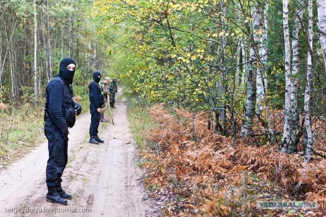 Как ищут людей в лесу
