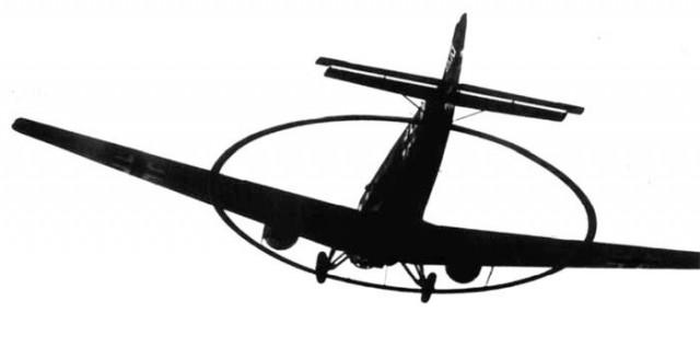 Редкий самолет с кольцом. Для чего он?