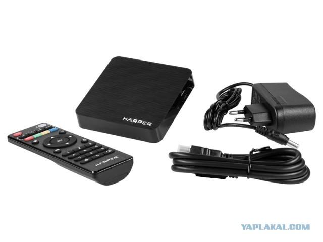 Android TV\Медиаприставка HARPER ABX-110 МСК\РФ