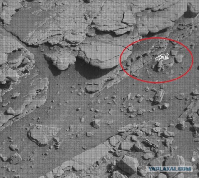 Немного фоток с Марса от Кьюриосити