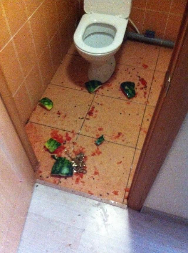 Когда у одного из приглашенных на вечеринку сорвало планку
