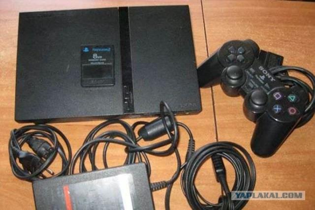 Sony PlayStation 2 Чип. + куча всего -обмен