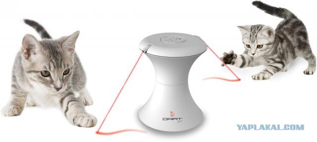 Продам интерактивную лазерную игрушку для кошек