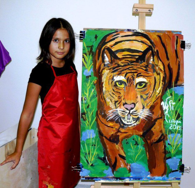Яркие и выразительные детские рисунки