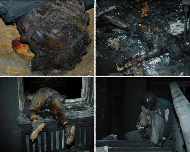 В Одессе 43 человека сожжены заживо в результате столкновени…