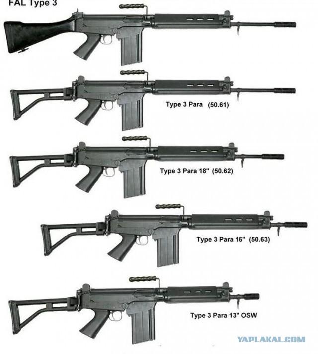 FN FAL. Левая рука увядающих империй
