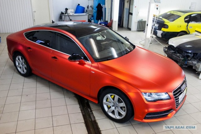Audi A7 � ������� ������� �����!