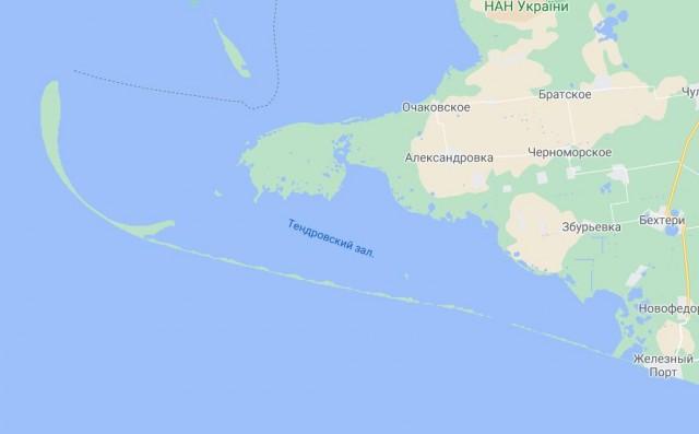Остров Тендра, идеально для отшельников