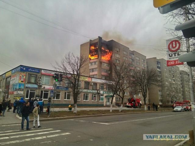 Ради лайков в интернете жители Уссурийска забыли вызвать спасателей на пожар
