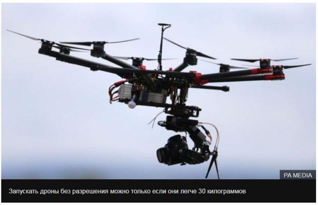 В России разрешили запускать дроны без согласования с диспетчерами