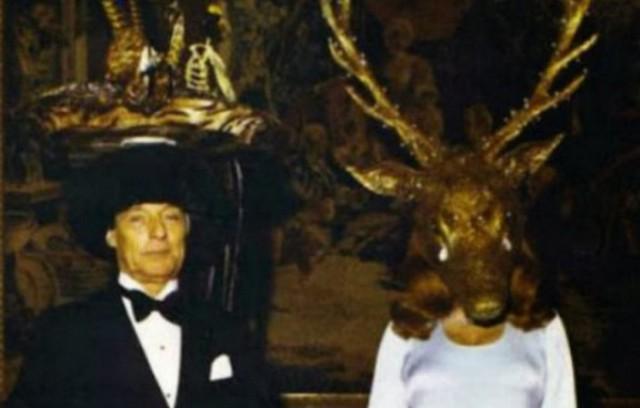 20 фото с тайной масонской вечеринки 1972 года, от которых мурашки по коже
