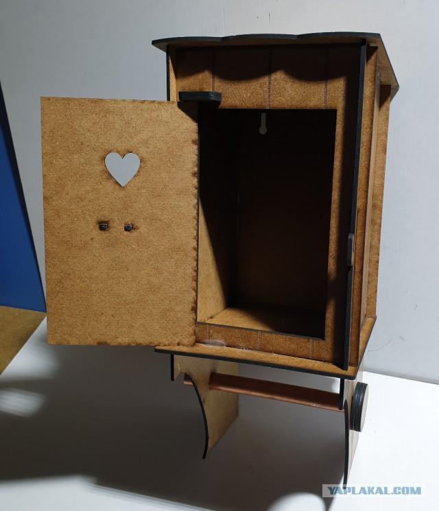 Оригинальный держатель для туалетной бумаг