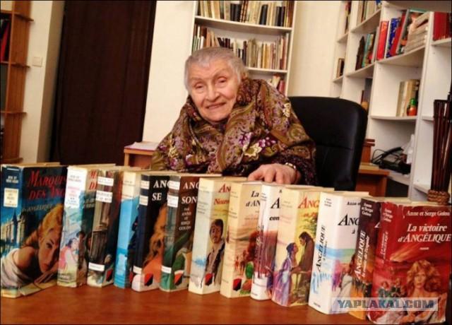 Автор романов об Анжелике Анн Голон умерла в нищете