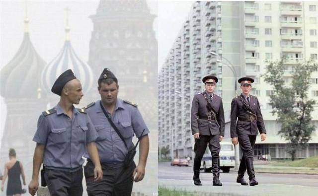 Милиция тогда и сейчас: разница налицо