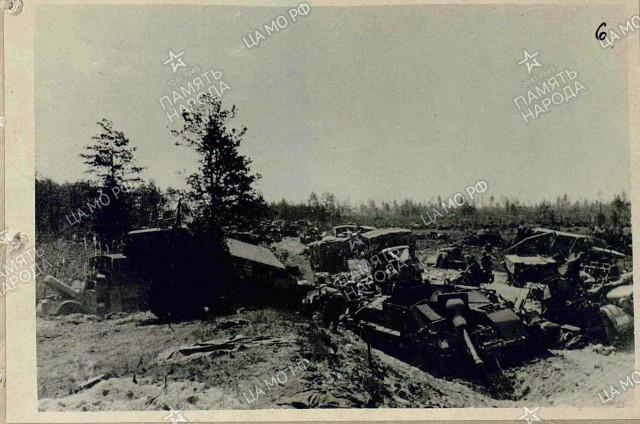 Результат работы нашей авиации (июнь 1944)