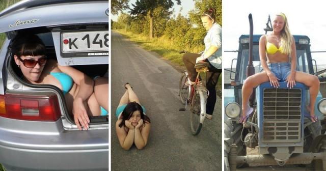 Сельские простушки, или как живется девушкам в деревне