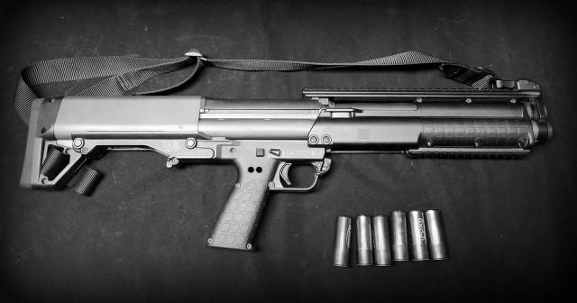 Оружейная эстетика: Kel-Tec KSG