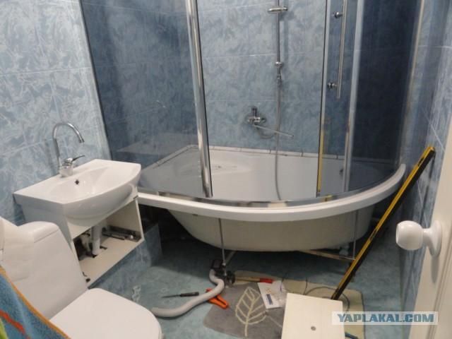 Еще одна ванная комната.