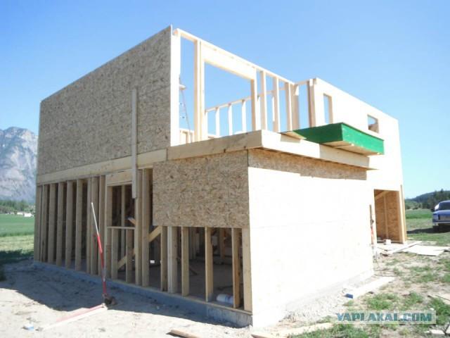 Самый дешевый построенный дом своими руками