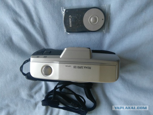 Кому почти новый пленочный фотоаппарат Canon Prima Super 120?