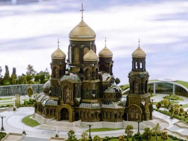 Путин пожертвовал деньги на икону для главного храма Вооруженных сил РФ...А больные дети подождут Первого канала?