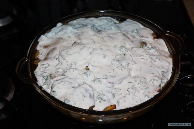 треска картошкой рецепт фото