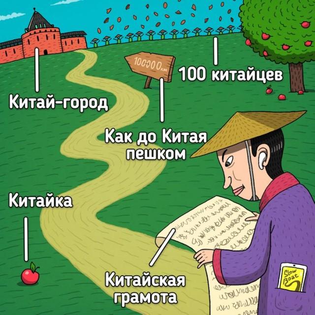 Страны, благодаря которым наша речь обогатилась фразеологизмами, а у привычных вещей появились названия