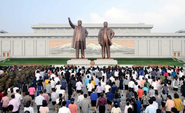 Кадры кровавого режима Северной Кореи