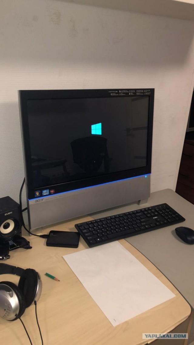 Москва. Сенсорный моноблок Acer Aspire Z5761