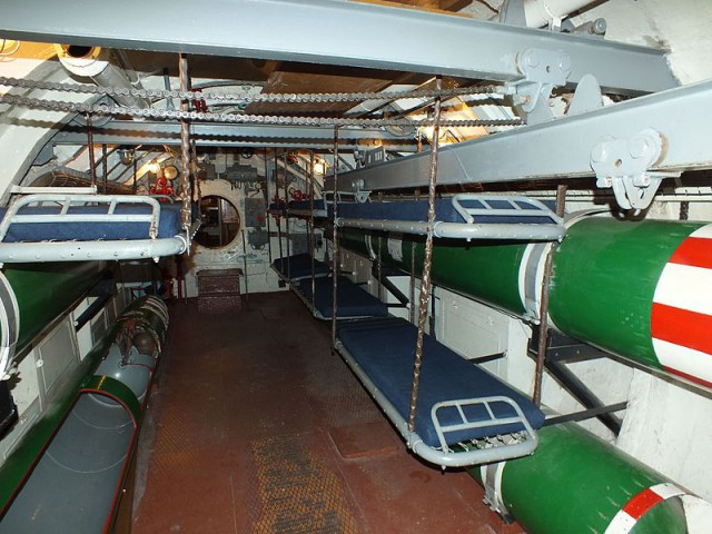 койки лодки