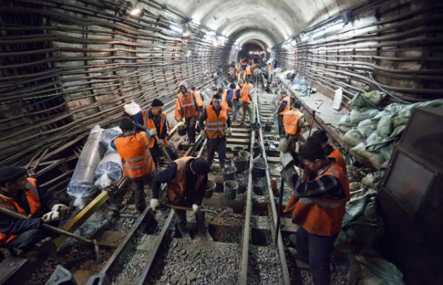 В Москве метростроевцы устроили забастовку после пятимесячной задержки зарплаты