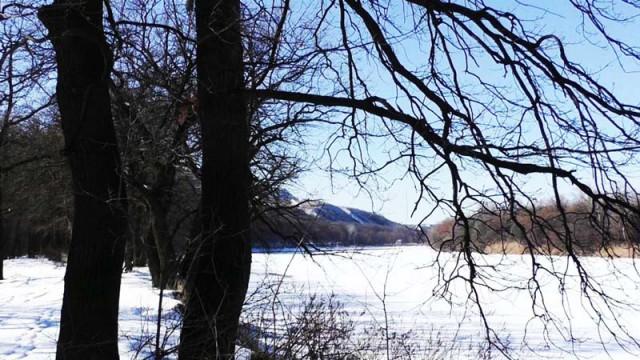 Одиночный поход с ночевкой, как вариант прощания с зимой