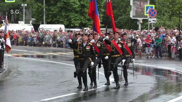 Украина направила России ноту протеста из-за парада Победы в Крыму