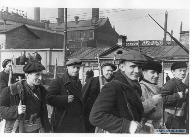 Блокадный Ленинград 1943 год