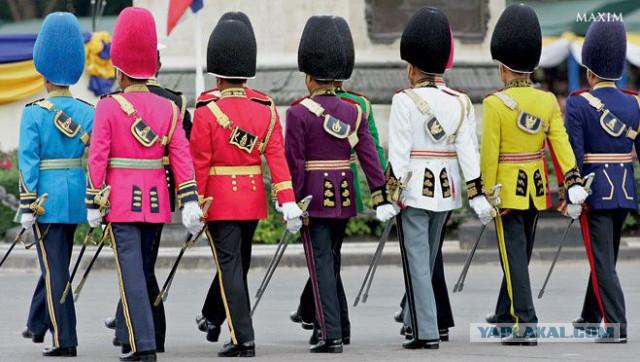 Военные и смешные. Самая чудаковатая форма армий