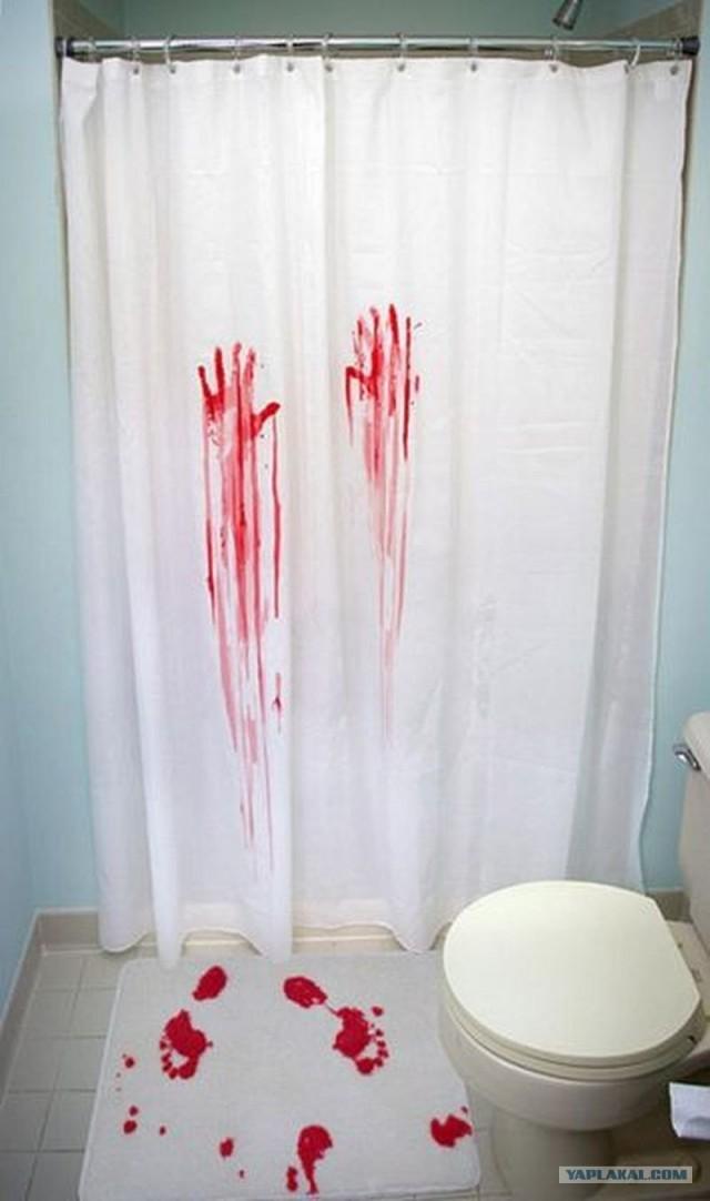 Шторы своими руками ванной