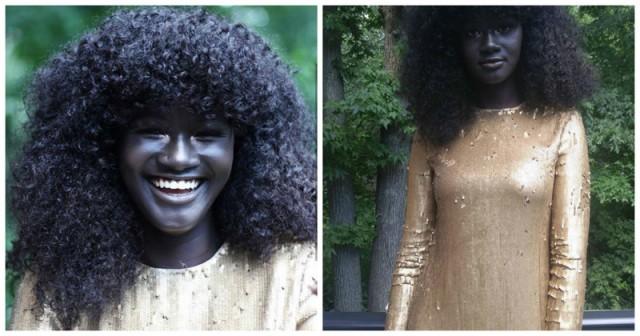 Աշխարհում մաշկի ամենամուգ գույնն ունեցող մոդելը(Photo)
