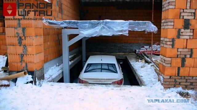 Построить гараж с подвалом