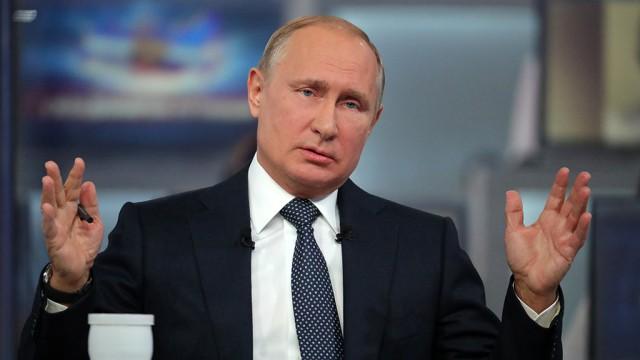 Две трети россиян заявили об одобрении деятельности Путина